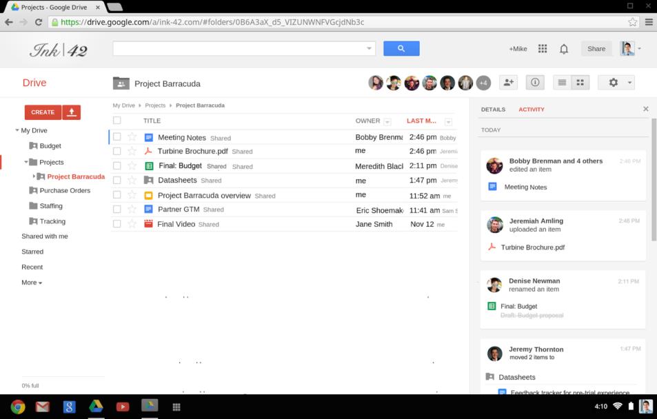 Como enviar arquivos pelo Google Drive