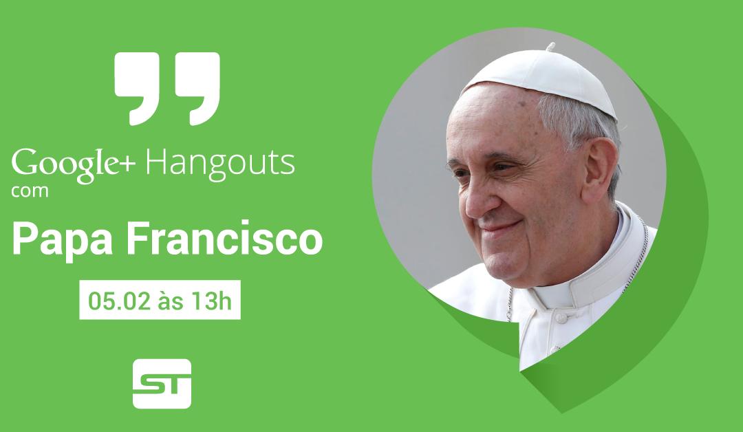 Papa Francisco faz mais um Google+ Hangout, com crianças do mundo todo