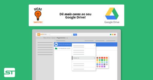 Google Drive: Dê mais cores às suas pastas do Drive!