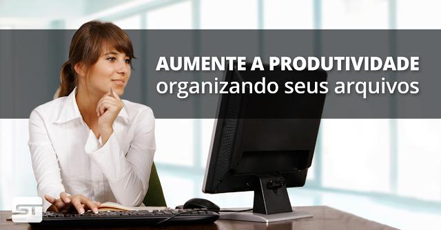 Aumente a produtividade do seu time organizando seus arquivos