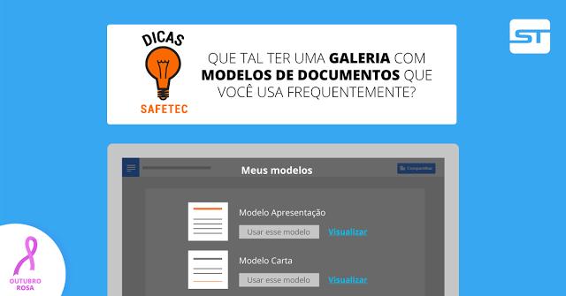 Google Docs: Tenha uma galeria de modelos de documentos! | Dica SAFETEC