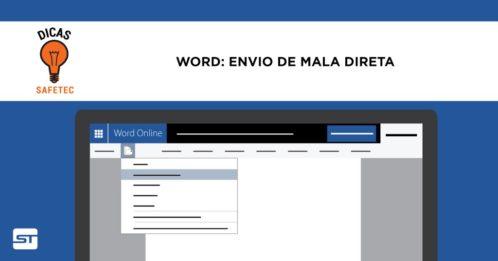 Como enviar mala direta com Word, Excel, outlook e Gmail