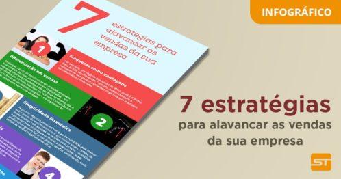[Infográfico] 7 estratégias para alavancar as vendas da sua empresa