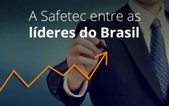 Safetec no ranking das 100 PMEs que mais crescem no Brasil
