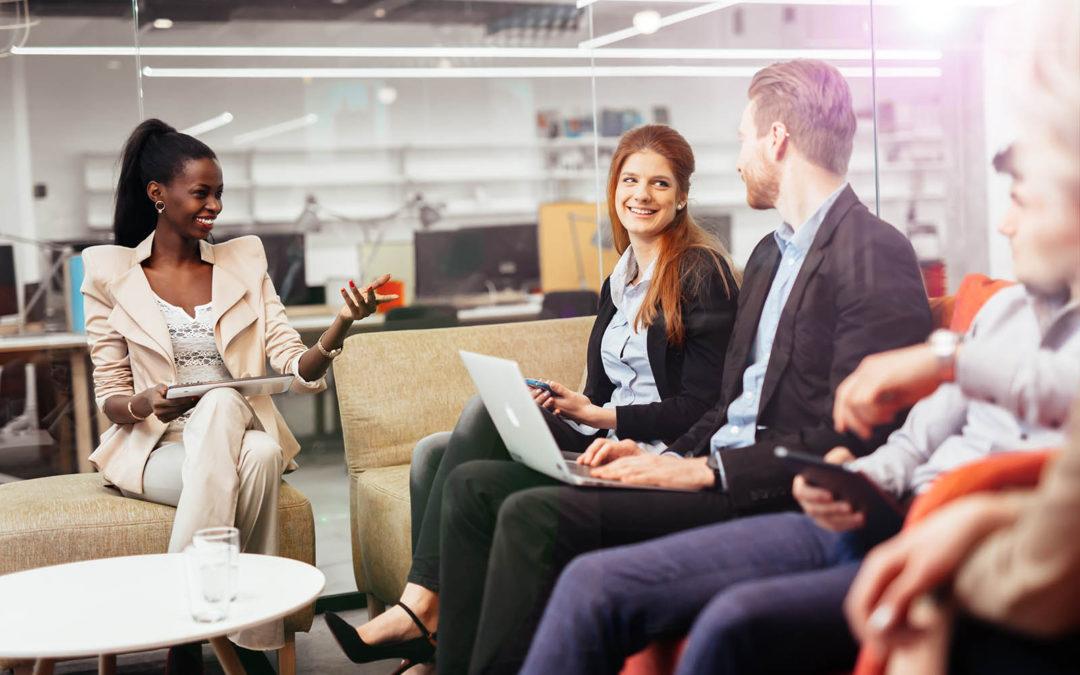 A dinâmica de colaboração potencializada pela tecnologia