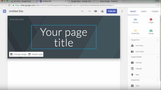 Como criar um site no Google Sites e seus benefícios