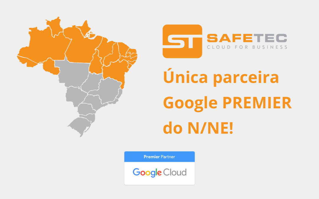 Somos os únicos Google Cloud Premier Partner do Norte e Nordeste!
