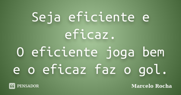 eficiência, eficácia, produtividade e competitividade